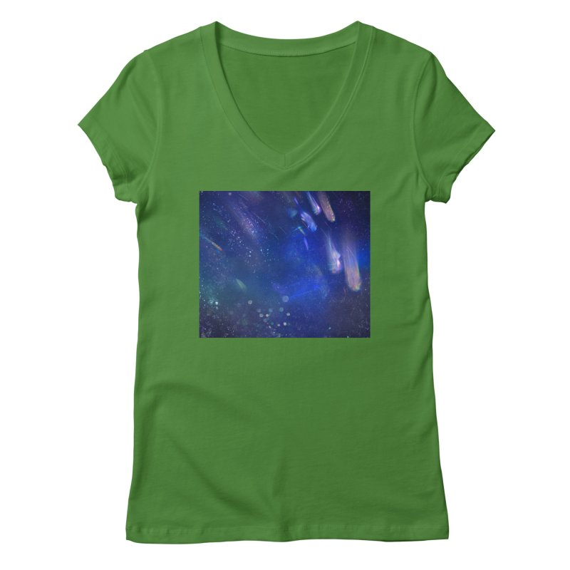 Out of This World Women's Regular V-Neck by Noir Designs
