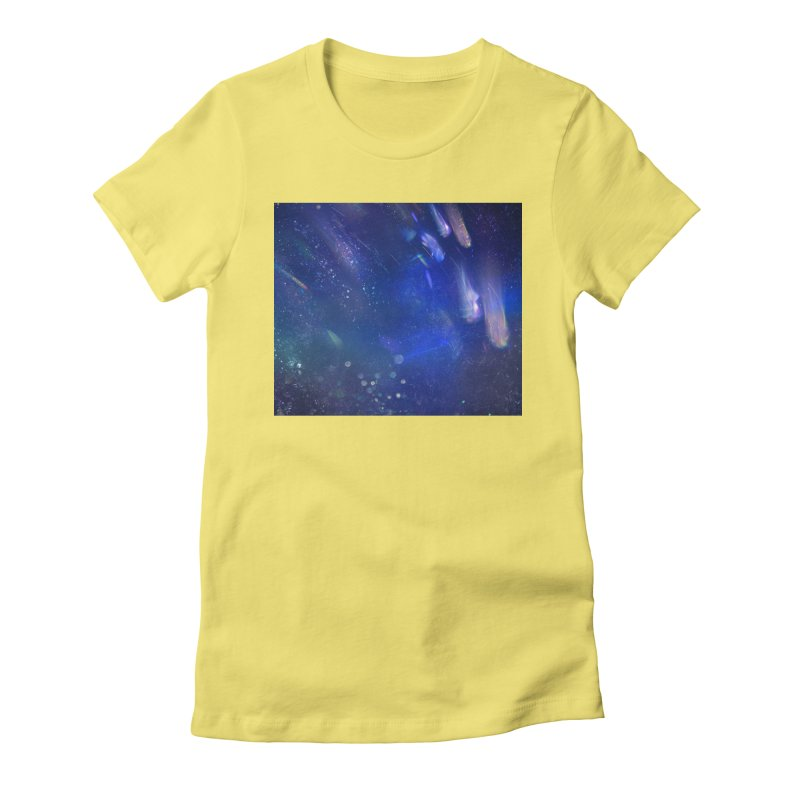 Out of This World Women's Fitted T-Shirt by Noir Designs