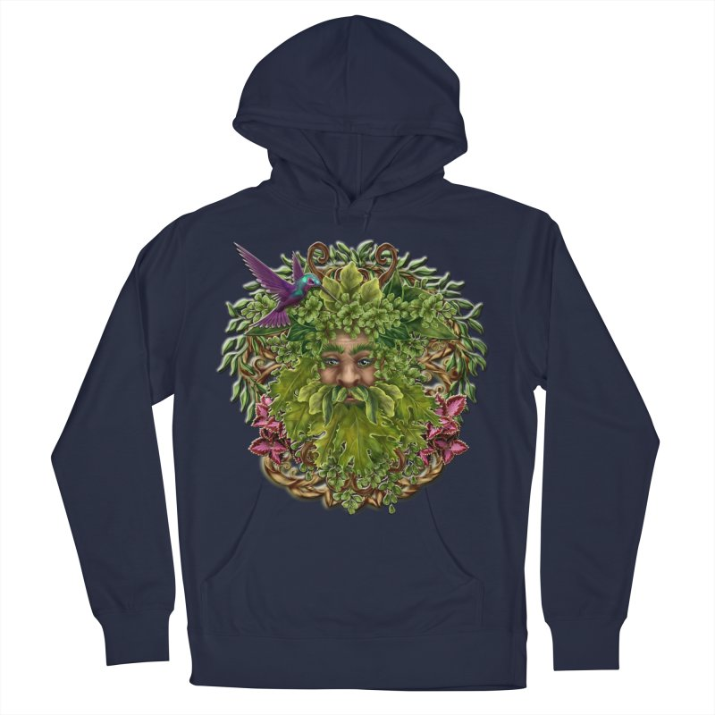 Pan the Pagan Earth God Women's French Terry Pullover Hoody by Noir Designs
