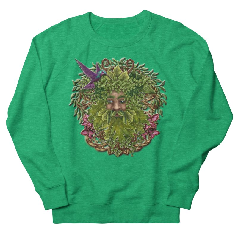 Pan the Pagan Earth God Women's French Terry Sweatshirt by Noir Designs