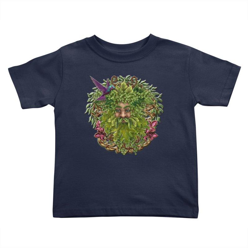 Pan the Pagan Earth God Kids Toddler T-Shirt by Noir Designs