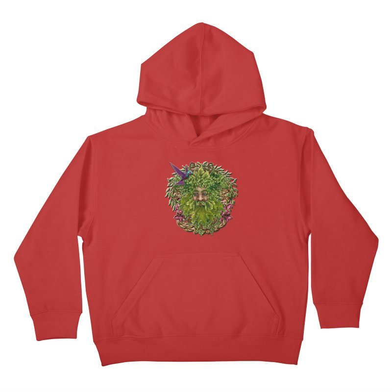 Pan the Pagan Earth God Kids Pullover Hoody by Noir Designs
