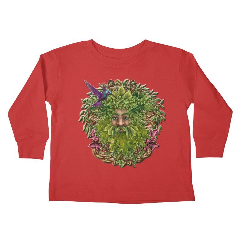 Pan the Pagan Earth God Kids Toddler Longsleeve T-Shirt by Noir Designs
