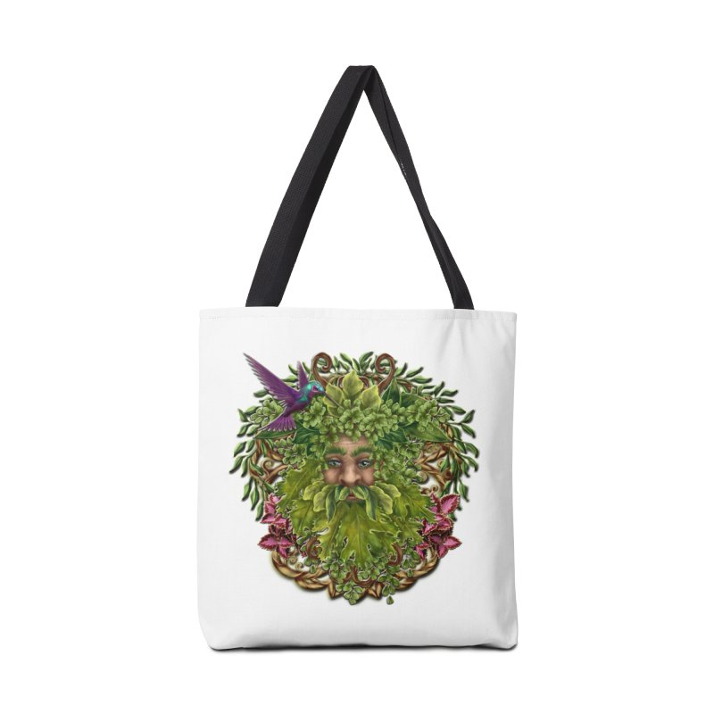Pan the Pagan Earth God Accessories Tote Bag Bag by Noir Designs