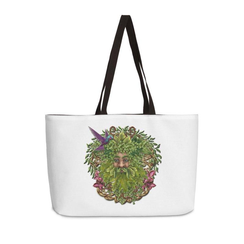 Pan the Pagan Earth God Accessories Weekender Bag Bag by Noir Designs