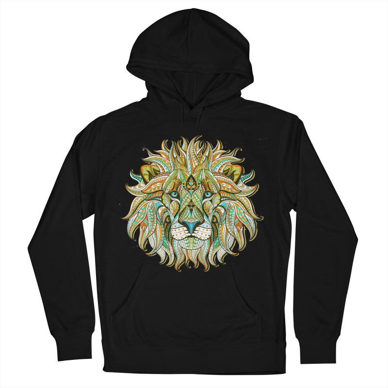 Lionometry Women's French Terry Pullover Hoody by Noir Designs