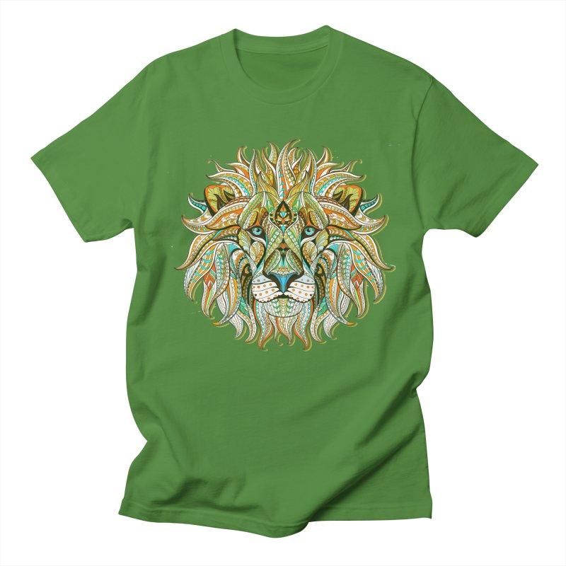 Lionometry Women's Regular Unisex T-Shirt by Noir Designs