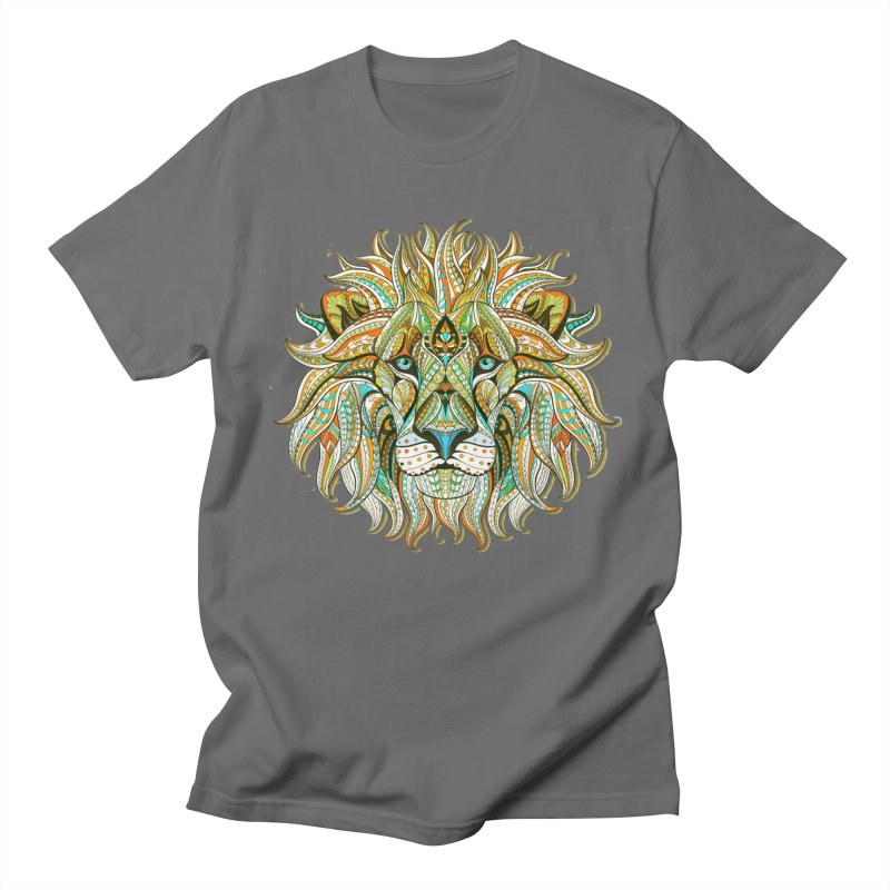 Lionometry Men's T-Shirt by Noir Designs