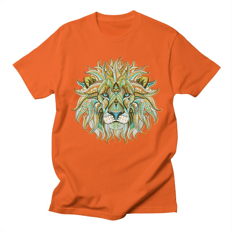 Lionometry Women's Regular Unisex T-Shirt by Noir Designs