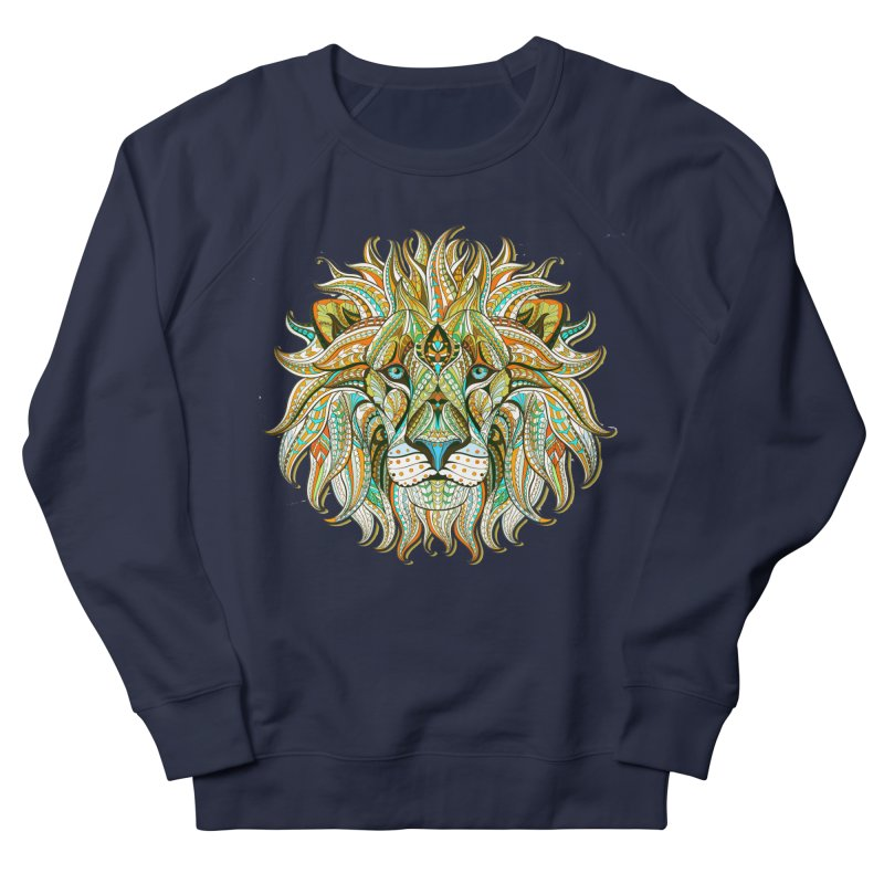 Lionometry Women's French Terry Sweatshirt by Noir Designs