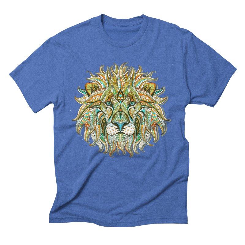 Lionometry Men's Triblend T-Shirt by Noir Designs