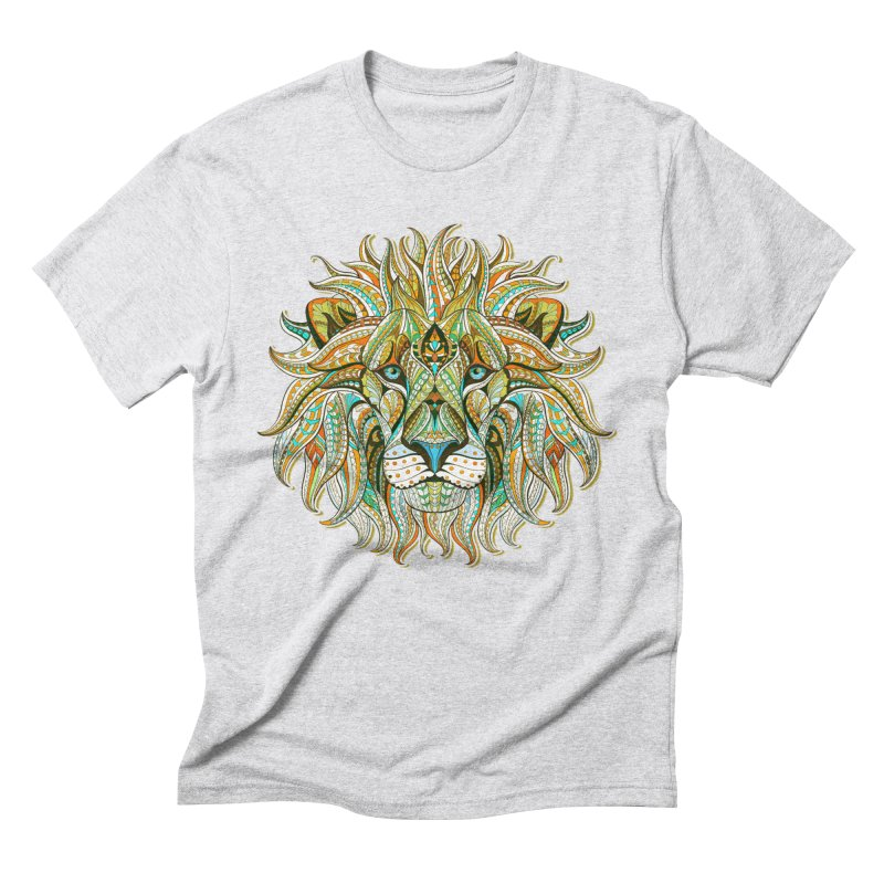 Lionometry Men's Triblend T-Shirt by Noir Designs