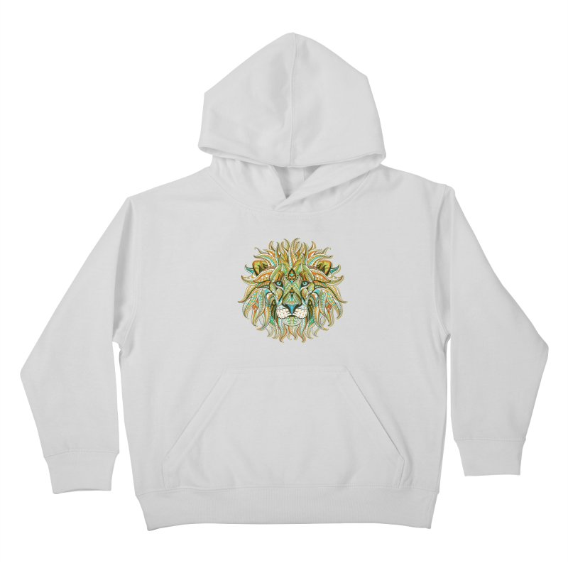 Lionometry Kids Pullover Hoody by Noir Designs