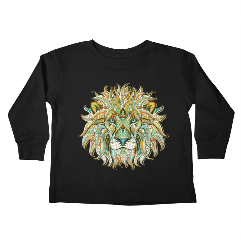 Lionometry Kids Toddler Longsleeve T-Shirt by Noir Designs