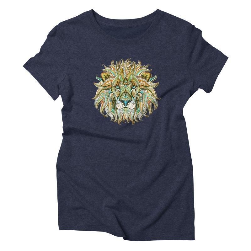 Lionometry Women's Triblend T-Shirt by Noir Designs