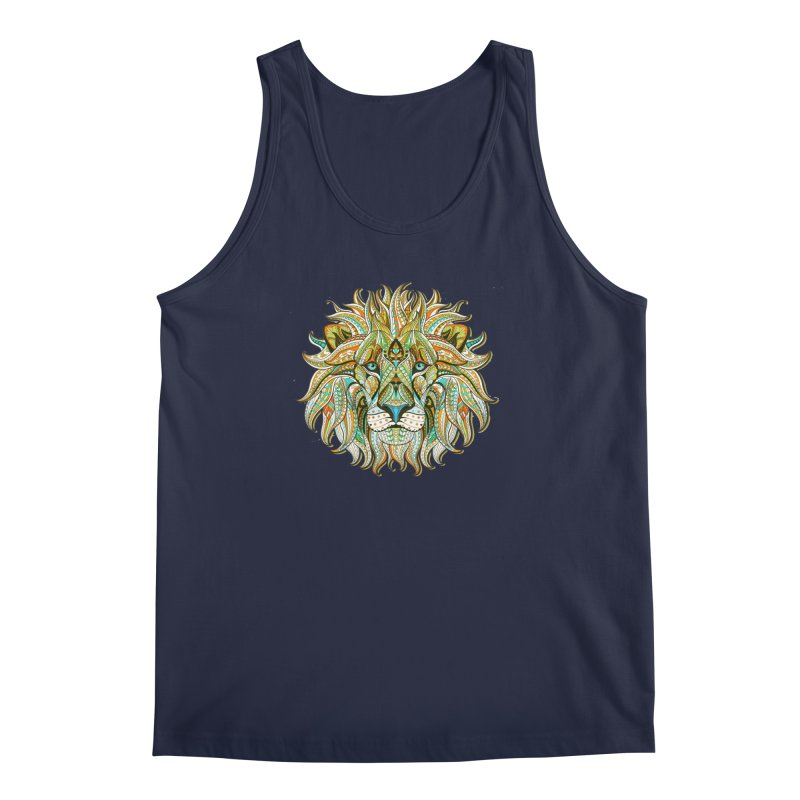 Lionometry Men's Regular Tank by Noir Designs