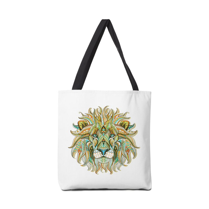 Lionometry in Tote Bag by Noir Designs