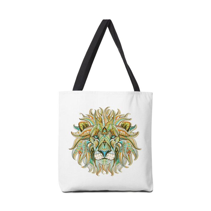 Lionometry Accessories Bag by Noir Designs