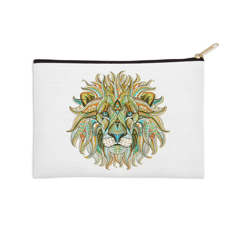 Lionometry Accessories Zip Pouch by Noir Designs