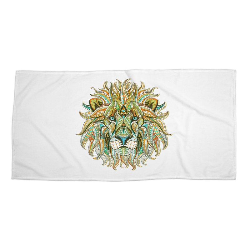 Lionometry Accessories Beach Towel by Noir Designs