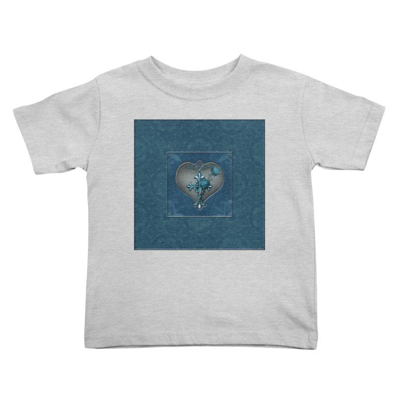 Blue Loyalty Kids Toddler T-Shirt by Noir Designs