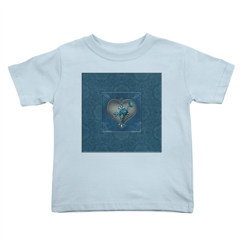 Blue Loyalty Kids Toddler T-Shirt by Noir Designs