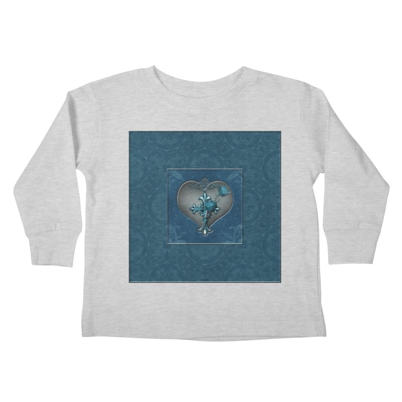 Blue Loyalty Kids Toddler Longsleeve T-Shirt by Noir Designs