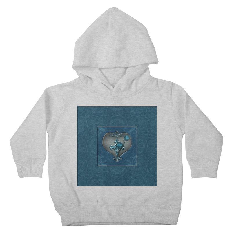 Blue Loyalty Kids Toddler Pullover Hoody by Noir Designs