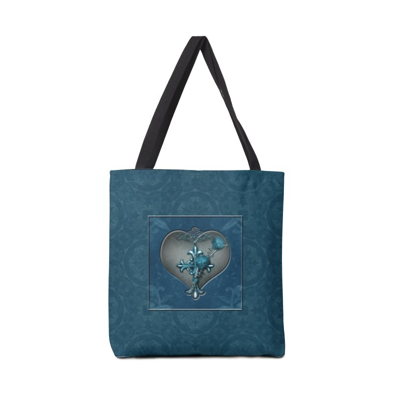 Blue Loyalty Accessories Tote Bag Bag by Noir Designs