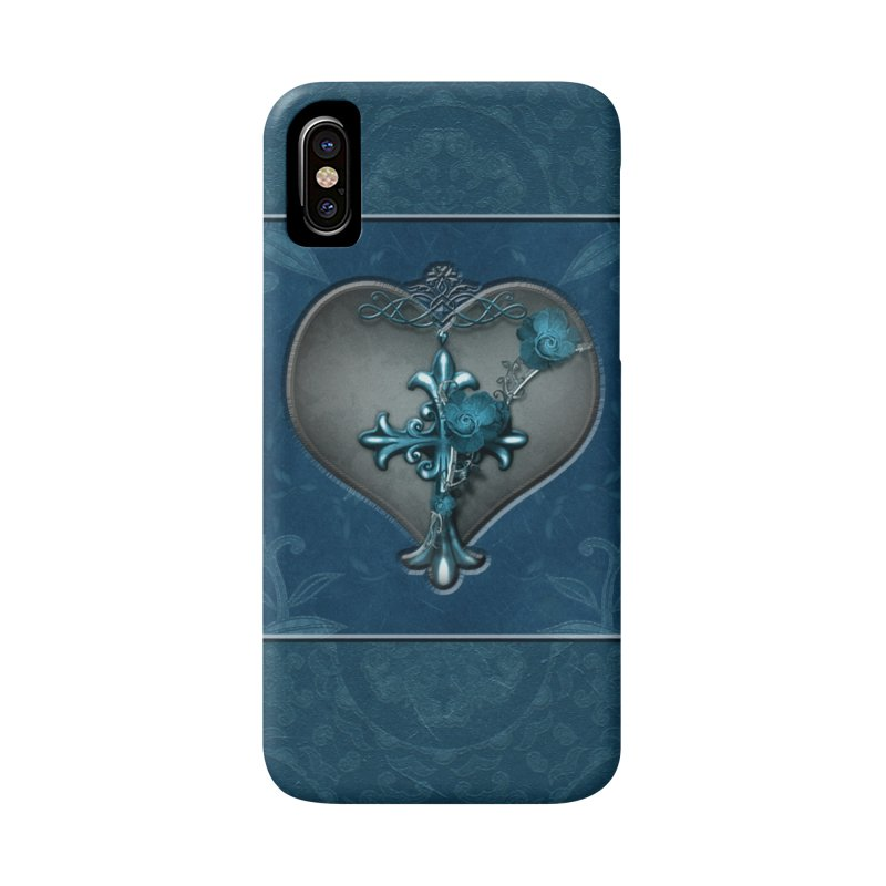 Blue Loyalty in iPhone X / XS Phone Case Slim by Noir Designs