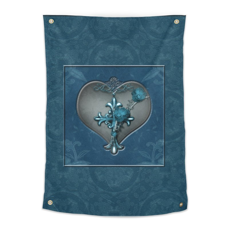 Blue Loyalty Home Tapestry by Noir Designs