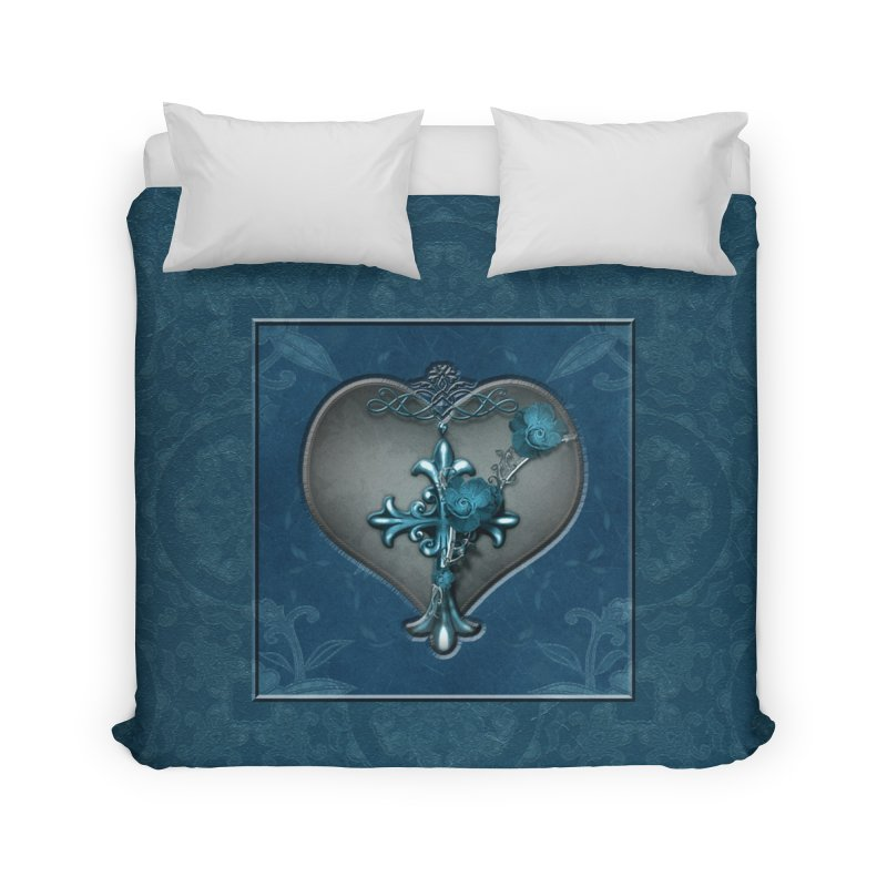 Blue Loyalty in Duvet by Noir Designs