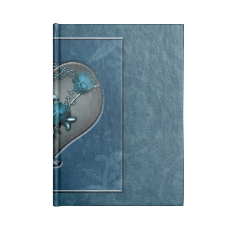 Blue Loyalty Accessories Lined Journal Notebook by Noir Designs