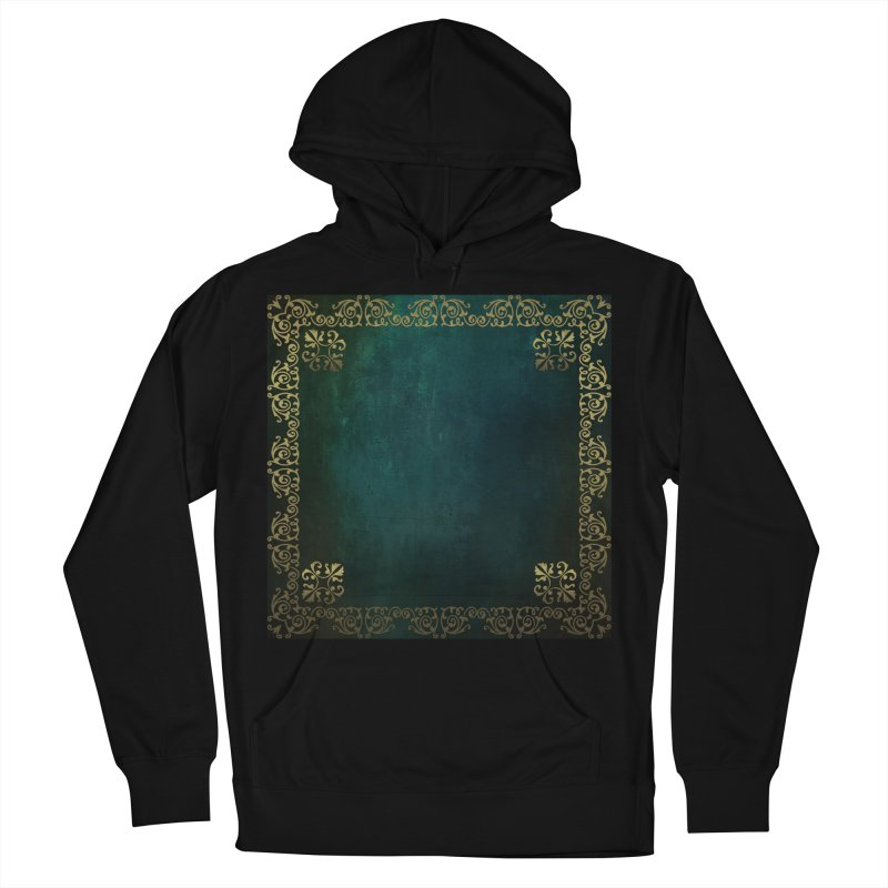 Tranquil Sea Men's French Terry Pullover Hoody by Noir Designs