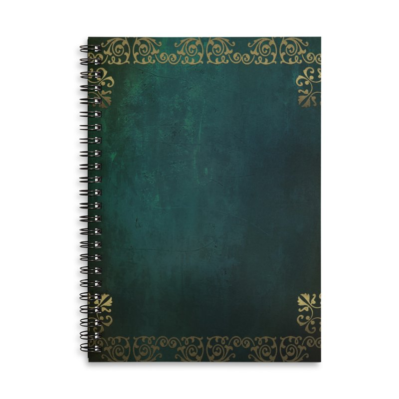 Tranquil Sea Accessories Lined Spiral Notebook by Noir Designs