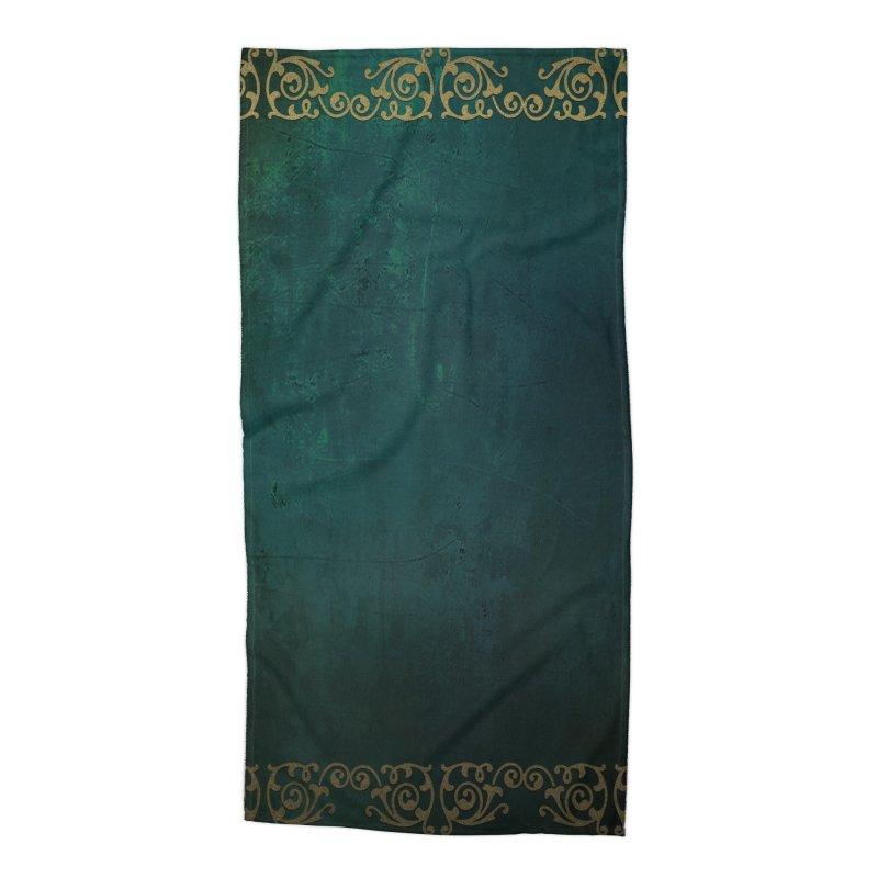 Tranquil Sea Accessories Beach Towel by Noir Designs