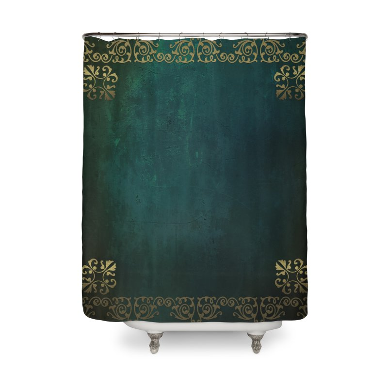 Tranquil Sea Home Shower Curtain by Noir Designs