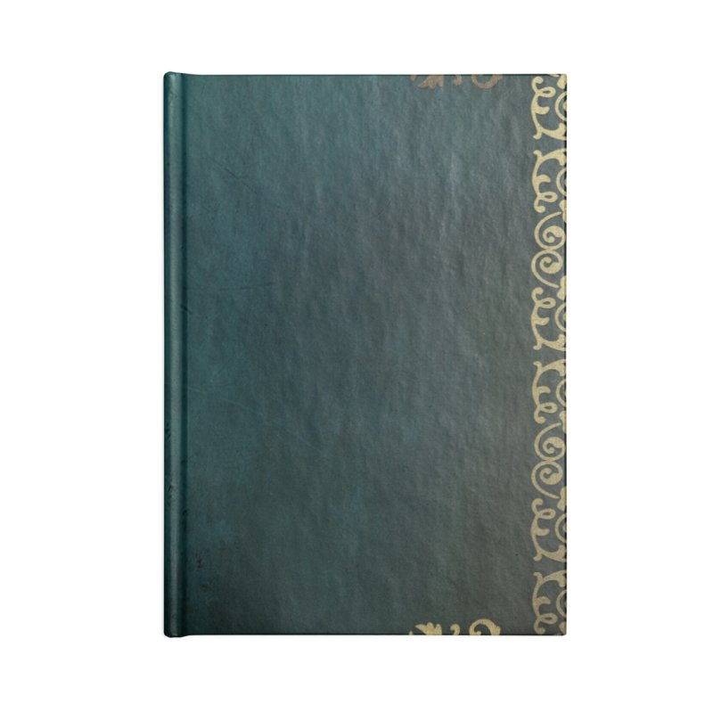 Tranquil Sea Accessories Blank Journal Notebook by Noir Designs