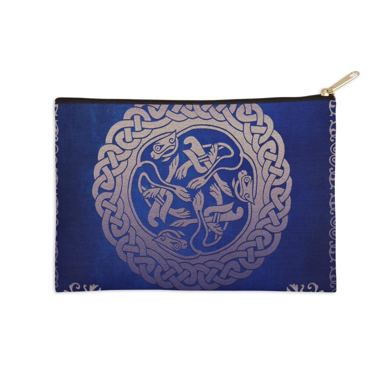 Indigo Sky Accessories Zip Pouch by Noir Designs