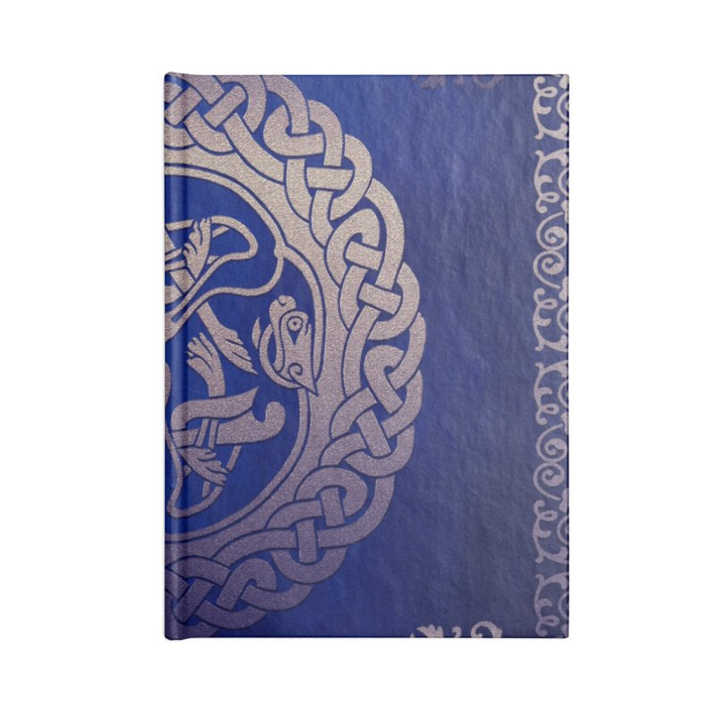 Indigo Sky Accessories Lined Journal Notebook by Noir Designs