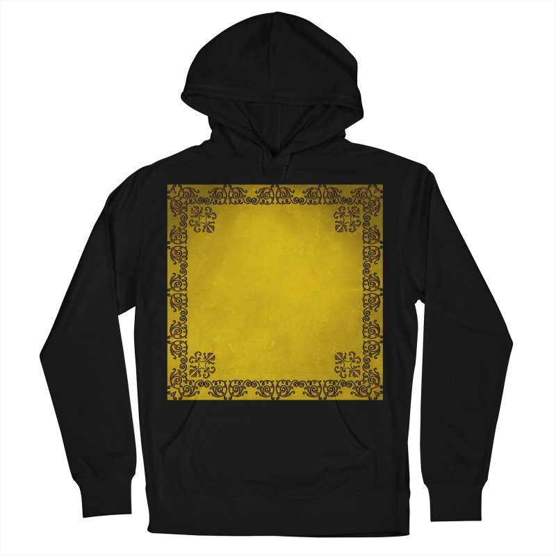 Golden Sun Men's French Terry Pullover Hoody by Noir Designs