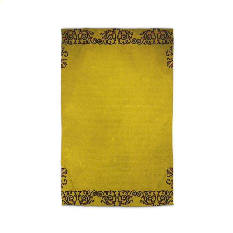 Golden Sun Home Rug by Noir Designs