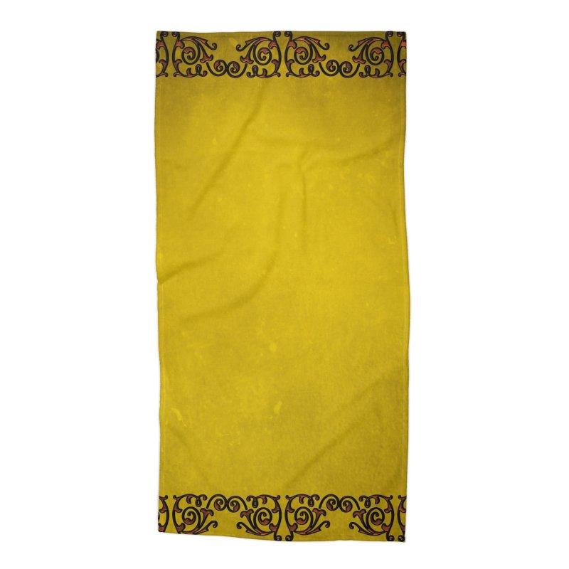 Golden Sun Accessories Beach Towel by Noir Designs