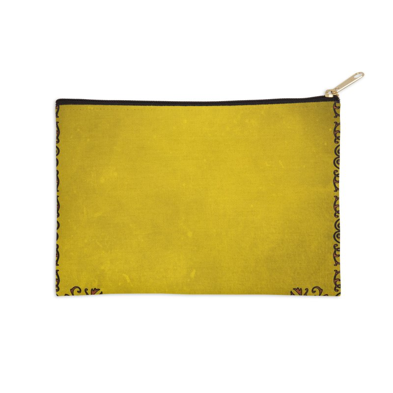 Golden Sun Accessories Zip Pouch by Noir Designs