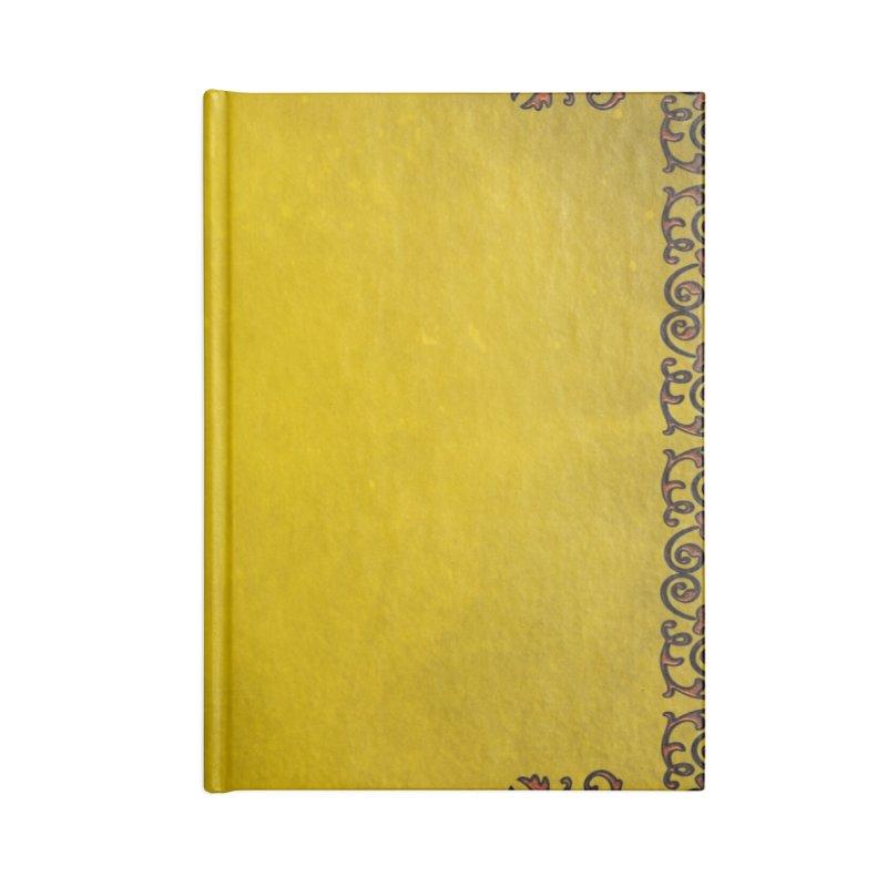 Golden Sun Accessories Notebook by Noir Designs
