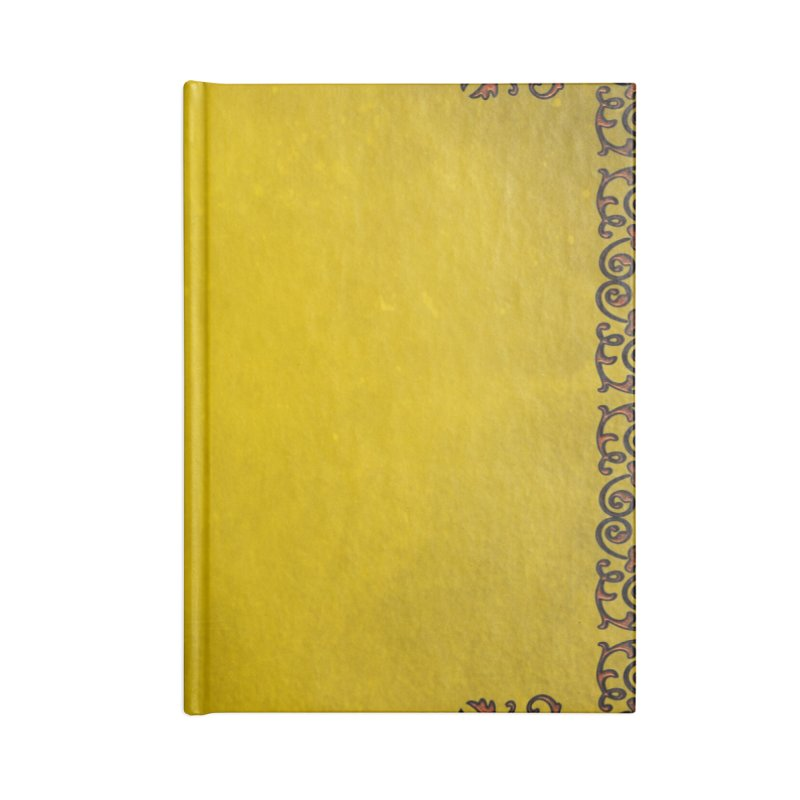 Golden Sun Accessories Lined Journal Notebook by Noir Designs