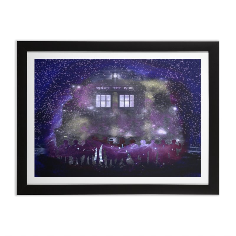 Twelve Home Framed Fine Art Print by Noir Designs