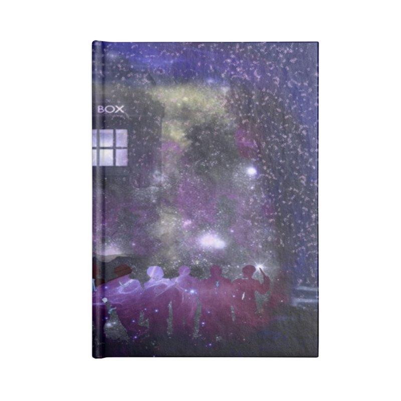 Twelve in Blank Journal Notebook by Noir Designs