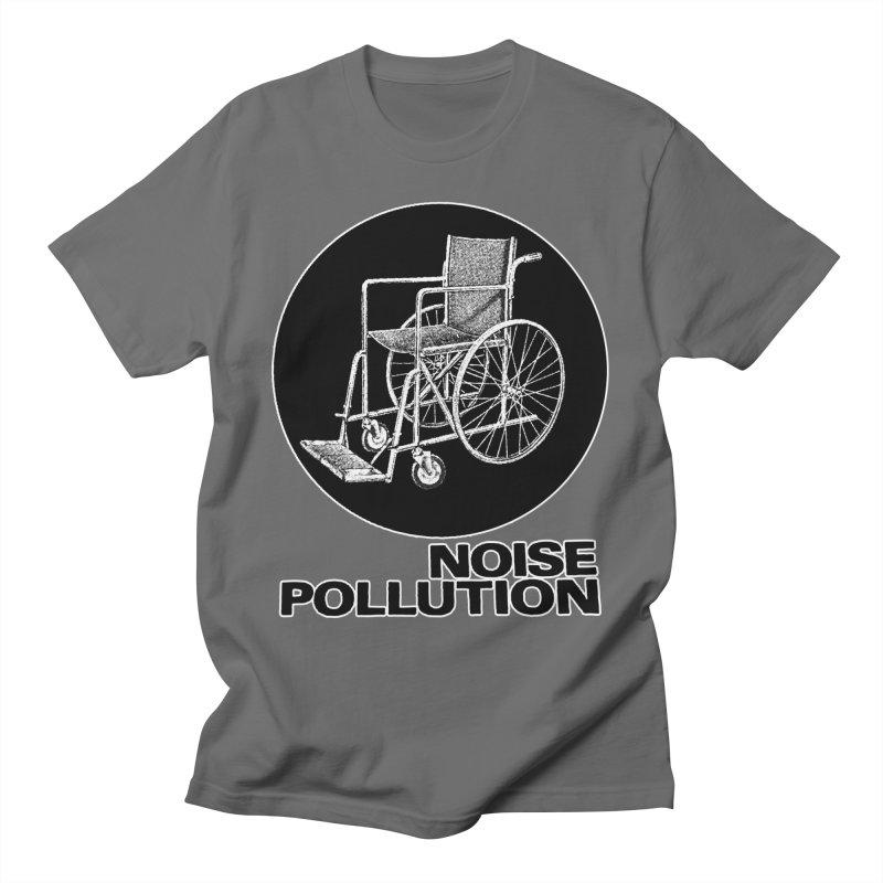 Wheelchair Men's T-Shirt by noisepollution's Artist Shop