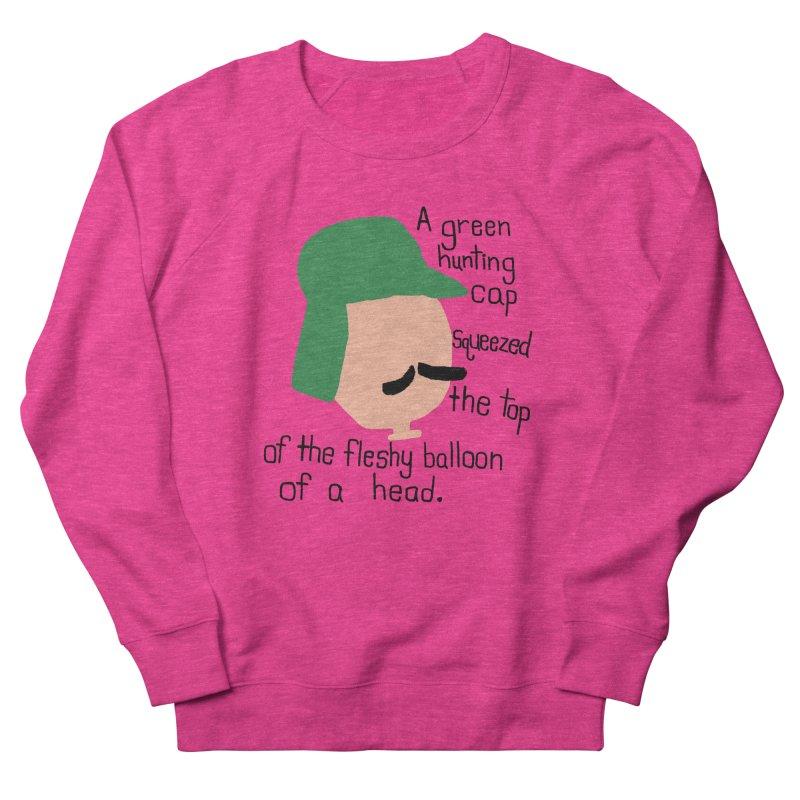 Iggy Balloon Head Men's French Terry Sweatshirt by NOLA 'Nacular's Shop